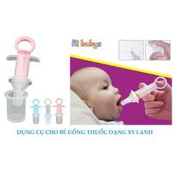 Dụng cụ cho bé uống thuốc và sữa an toàn