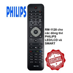 Remote điều khiển tivi PHILIPS. RM-L1128 cho tất cả các dòng tivi PHILIPS.