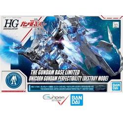 Gundam Bandai Hg Unicorn Perfectibility Destroy 1/144 HGUC UC Đồ Chơi Mô Hình Lắp Ráp Anime Nhật