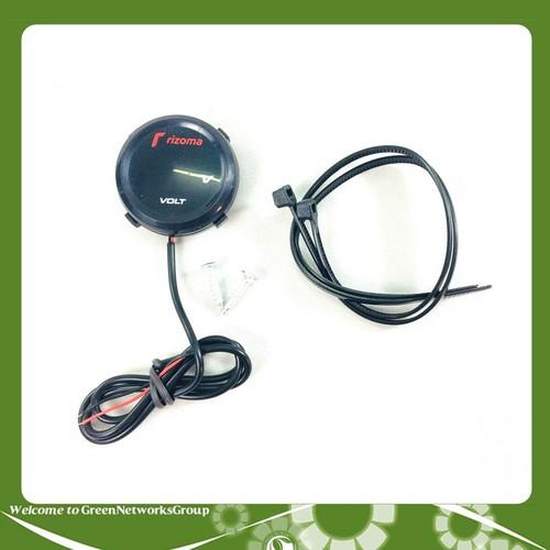 Đồng hồ volt rizoma kiểu tròn đồng hồ chuyên đo điện bình dành cho mô tô, xe máy… greennetworks - 12050407 , 19672155 , 15_19672155 , 399000 , Dong-ho-volt-rizoma-kieu-tron-dong-ho-chuyen-do-dien-binh-danh-cho-mo-to-xe-may-greennetworks-15_19672155 , sendo.vn , Đồng hồ volt rizoma kiểu tròn đồng hồ chuyên đo điện bình dành cho mô tô, xe máy… gree