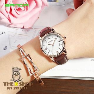 đồng hồ nữ dây da - đồng hồ nữ dây da S603 thumbnail