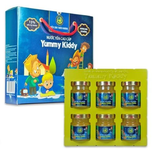Yến sào yummy kiddy 15 phần trăm yến tổ cho bé mau lớn - 12052998 , 19675974 , 15_19675974 , 190000 , Yen-sao-yummy-kiddy-15-phan-tram-yen-to-cho-be-mau-lon-15_19675974 , sendo.vn , Yến sào yummy kiddy 15 phần trăm yến tổ cho bé mau lớn