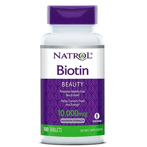 Natrol biotin 10000 mcg viên uống hỗ trợ mọc tóc 100 viên - 12046105 , 19665922 , 15_19665922 , 310000 , Natrol-biotin-10000-mcg-vien-uong-ho-tro-moc-toc-100-vien-15_19665922 , sendo.vn , Natrol biotin 10000 mcg viên uống hỗ trợ mọc tóc 100 viên