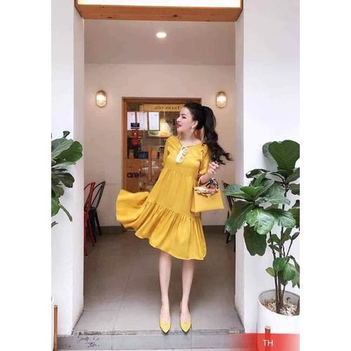 Váy babydoll thụng rộng bầu bí ok - 12060748 , 19686219 , 15_19686219 , 180000 , Vay-babydoll-thung-rong-bau-bi-ok-15_19686219 , sendo.vn , Váy babydoll thụng rộng bầu bí ok