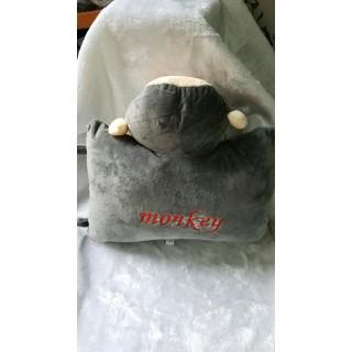 gối đi xe máy cho bé vải nhung nỉ đầu hình con thú 36x26cm [ĐƯỢC KIỂM HÀNG] 11665246 - 11665246 thumbnail