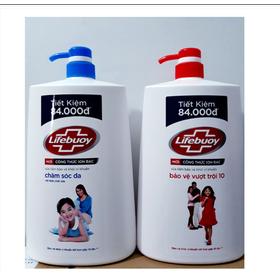 Sữa tắm Lifebuoy chai 1100g - Sữa tắm Lifebuoy chai 1100g