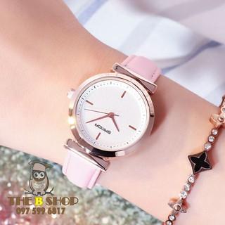 đồng hồ nữ dây da - đồng hồ nữ dây da S702 thumbnail