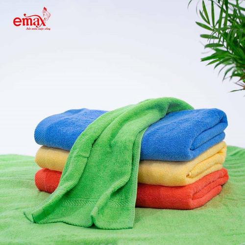 Khăn emax sợi tre eh04t khăn tắm nhỡ mềm mại thấm hút tốt size  50x100 350gr