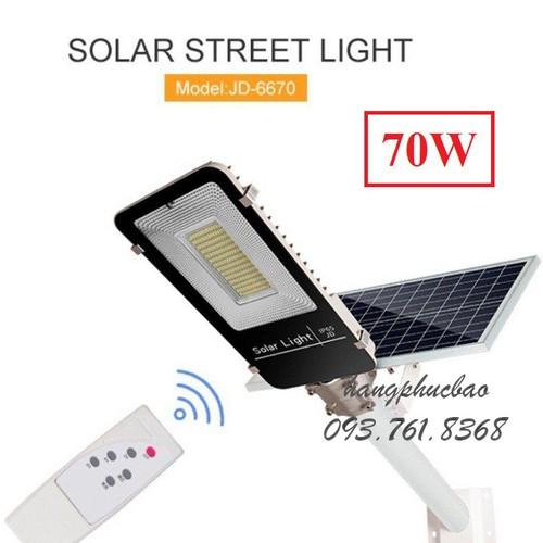 Bóng đèn năng lượng mặt trời cảm ứng ngày đêm 70w - đèn đường solar light