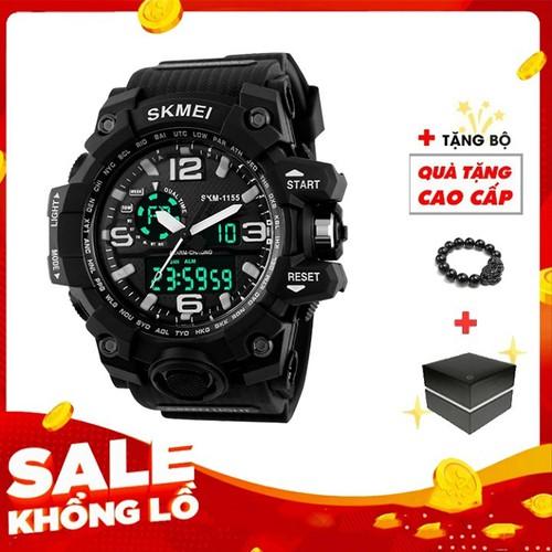 Đồng hồ nam điện tử skmei 1155 đen - 12074339 , 19706885 , 15_19706885 , 250000 , Dong-ho-nam-dien-tu-skmei-1155-den-15_19706885 , sendo.vn , Đồng hồ nam điện tử skmei 1155 đen