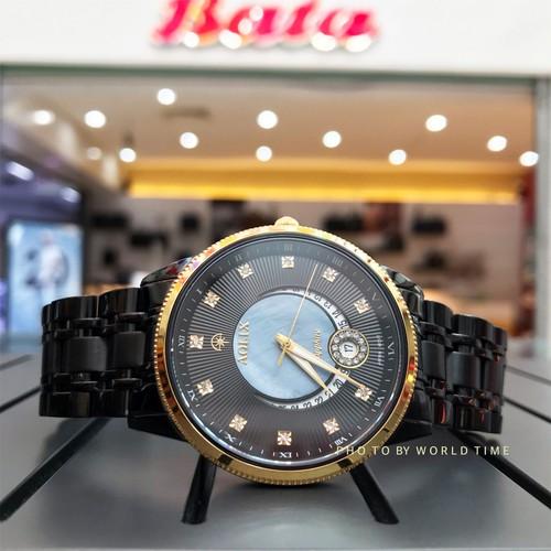 Đồng hồ nam aolix al9136g-[full box] chính hãng, mặt sapphire chống trầy xước, chống nước, bảo hành 3 năm.