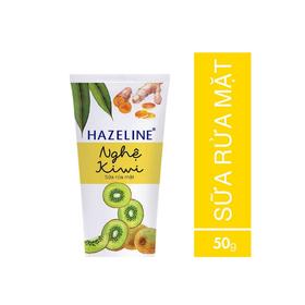 Sữa Rửa Mặt Hazeline Nghệ Kiwi Tuýp 50g - 8934868126867