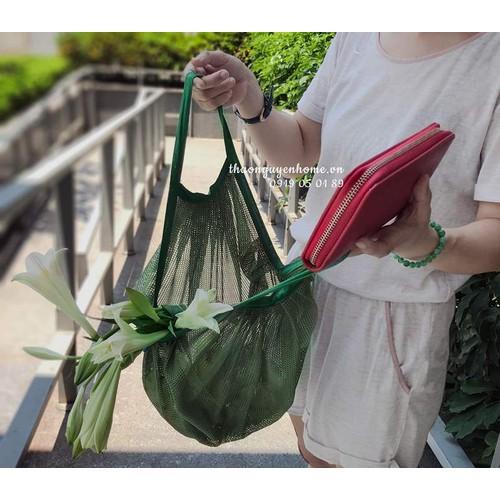 Túi lưới đi chợ