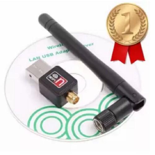 Usb thu wifi 802 11n có râu kèm đĩa driver