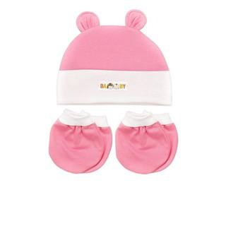 Bộ nón và bao tay chân bé sơ sinh