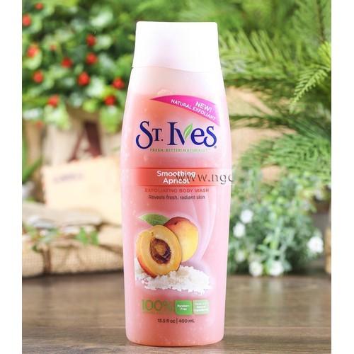 Sữa tắm dưỡng ẩm st.ives hương mơ 400ml