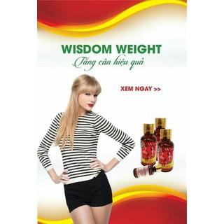 TĂNG CÂN WISDOM WEIGHT - WISDOM WEIGHT - 0309 thumbnail