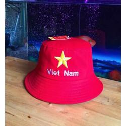 Mũ bucket chữ Việt Nam