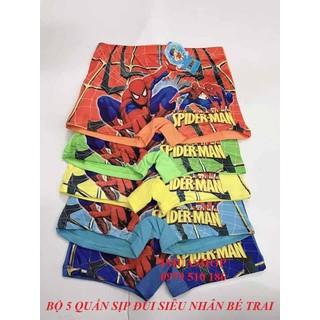 Combo 05 quần đùi bé trai siêu nhân - 8181-5 thumbnail