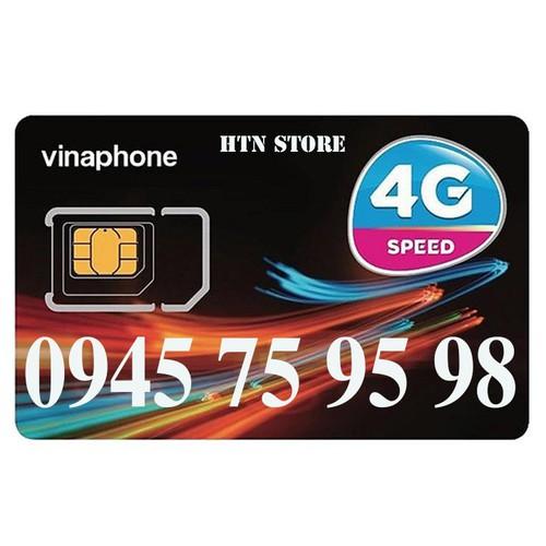 Sim số đẹp vinaphone giá rẻ -0945759598