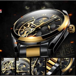 Đồng hồ nam đồng hồ nam đồng hồ nam Đồng hồ cơ AUTOMATIC dây thép lộ cơ - TK422 thumbnail