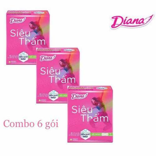Combo 6 gói băng vệ sinh Diana siêu thấm siêu mỏng không cánh - gói 8 miếng - 11591148 , 19703268 , 15_19703268 , 99000 , Combo-6-goi-bang-ve-sinh-Diana-sieu-tham-sieu-mong-khong-canh-goi-8-mieng-15_19703268 , sendo.vn , Combo 6 gói băng vệ sinh Diana siêu thấm siêu mỏng không cánh - gói 8 miếng