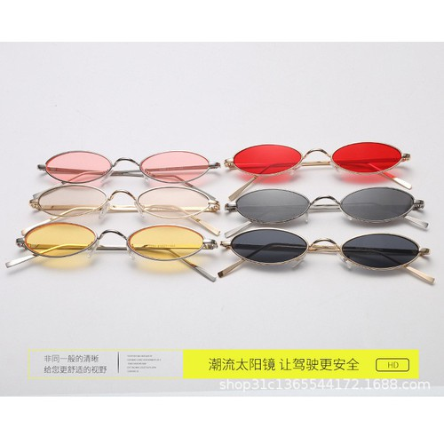 Mắt kính ovan nhiều màu