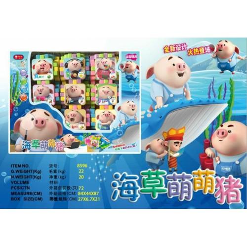 Bộ đồ chơi xếp hình chú heo kết hợp học chữ cái cho bé yêu Jika Store - 10640230 , 19706391 , 15_19706391 , 55000 , Bo-do-choi-xep-hinh-chu-heo-ket-hop-hoc-chu-cai-cho-be-yeu-Jika-Store-15_19706391 , sendo.vn , Bộ đồ chơi xếp hình chú heo kết hợp học chữ cái cho bé yêu Jika Store