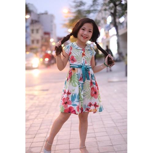 Váy đũi công chúa kèm đai lưng cho bé từ 13 đến 30kg