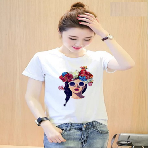 [Áo nữ hot]áo thun nữ in họa tiết cô gái sắc màu siêu hot đủ màu đủ size - atnu02