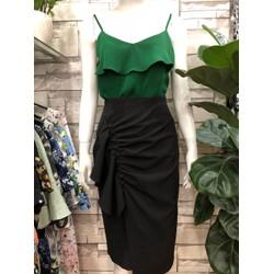 Chân váy bút chì bèo hông- Minh Tam fashion - V19001