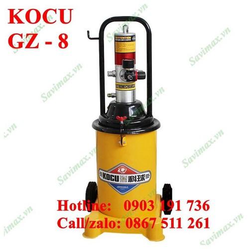 Máy bơm mỡ nén khí chính hãng kocu gz8- nơi chuyên phân phối máy bơm mỡ, máy công nghiệp toàn quốc