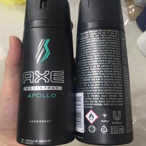 Xịt toàn thân AXE APOLLO 150ml