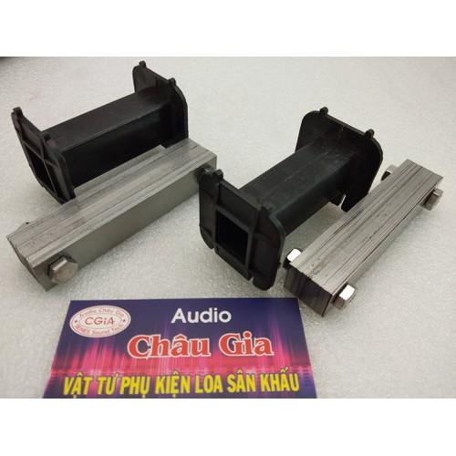 2 khung nhựa quấn cuộn cảm sk + lõi sillic sắt . audio châu gia