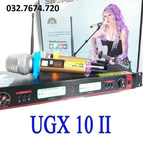 Micro không dây cao cấp ugx 10 ii loại 1 - 12069891 , 19700095 , 15_19700095 , 2460000 , Micro-khong-day-cao-cap-ugx-10-ii-loai-1-15_19700095 , sendo.vn , Micro không dây cao cấp ugx 10 ii loại 1