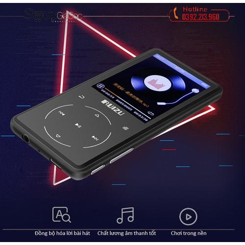 Máy nghe nhạc mp3 lossless bluetooth 4.1 ruizu d16 - 12064979 , 19693162 , 15_19693162 , 949000 , May-nghe-nhac-mp3-lossless-bluetooth-4.1-ruizu-d16-15_19693162 , sendo.vn , Máy nghe nhạc mp3 lossless bluetooth 4.1 ruizu d16