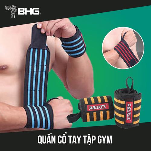 Băng quấn cổ tay, bảo vệ cổ tay tập gym aolikes