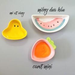 Bát ăn dặm carot mini cho bé ăn dặm kiểu nhật