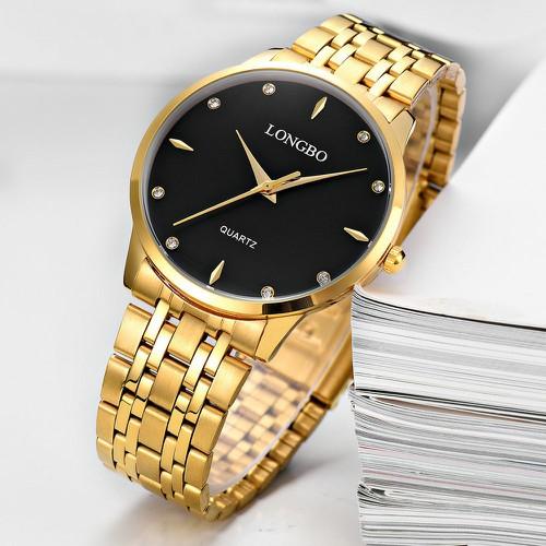Đồng hồ nam chính hãng longbo, phong cách doanh nhân, bảo hành 1 năm