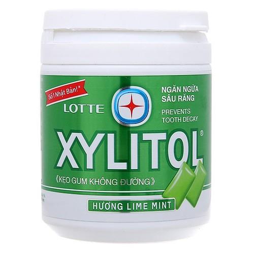 Kẹo gum không đường lotte xylitol hương bạc hà hũ 145g - 12070119 , 19700385 , 15_19700385 , 66000 , Keo-gum-khong-duong-lotte-xylitol-huong-bac-ha-hu-145g-15_19700385 , sendo.vn , Kẹo gum không đường lotte xylitol hương bạc hà hũ 145g