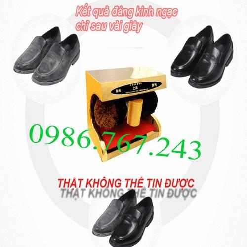 Máy đánh giày tự động shiny shn -g4 giá rẻ - tặng 1hộp xi đánh giày