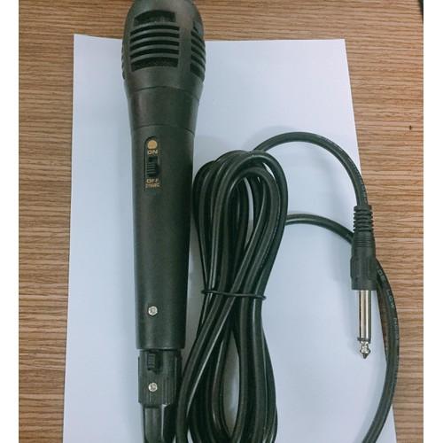Micro có dây dành cho loa karaoke mini