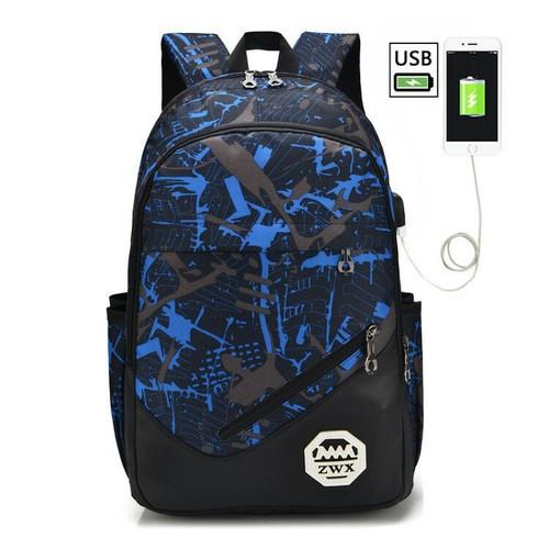 Balo đi học trang bị cổng sạc usb - balo thời trang manga đựng laptop đi làm, đi chơi - mầu xanh dương - 12076356 , 19709421 , 15_19709421 , 185000 , Balo-di-hoc-trang-bi-cong-sac-usb-balo-thoi-trang-manga-dung-laptop-di-lam-di-choi-mau-xanh-duong-15_19709421 , sendo.vn , Balo đi học trang bị cổng sạc usb - balo thời trang manga đựng laptop đi làm, đi c