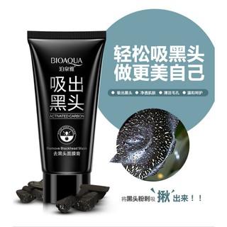 [CỰC HOT] Gel lột mụn se khít lỗ chân lông chiết xuất than tre hoạt tính Bioaqua - A24 thumbnail