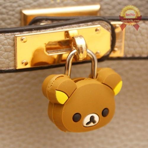 Ổ khóa chống trộm mini vali hoạt hình dễ thương | ổ khóa hoạt hình cặp sách
