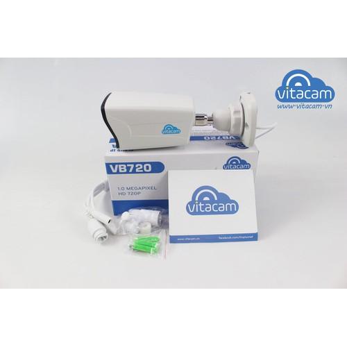 Camera ip vitacam vb720 1.0mpx ngoài trời chuẩn hd 720p