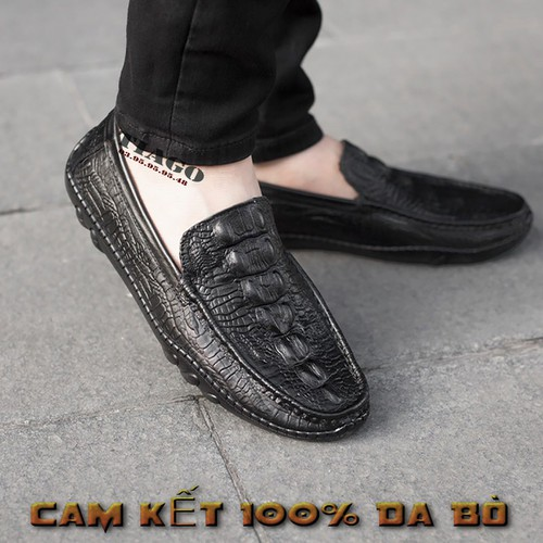 Giày lười nam, giày mọi nam DA BÒ THẬT - BH 1 NĂM - 11591785 , 19727353 , 15_19727353 , 450000 , Giay-luoi-nam-giay-moi-nam-DA-BO-THAT-BH-1-NAM-15_19727353 , sendo.vn , Giày lười nam, giày mọi nam DA BÒ THẬT - BH 1 NĂM