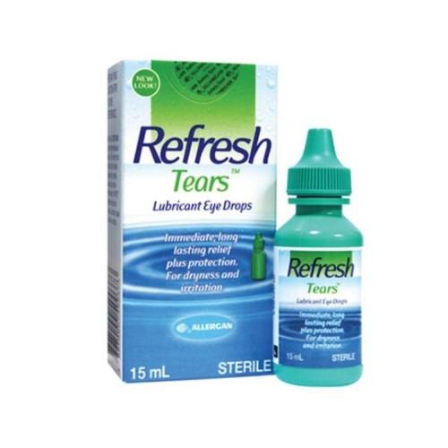 Thuốc nhỏ mắt refresh tears làm dịu mắt