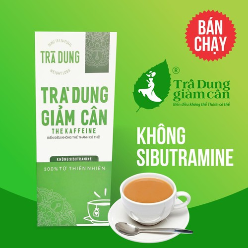 Trà dung giàm cân túi lọc 30 gói - the kaffeine_trà dung là hay còn gọi là chè dung