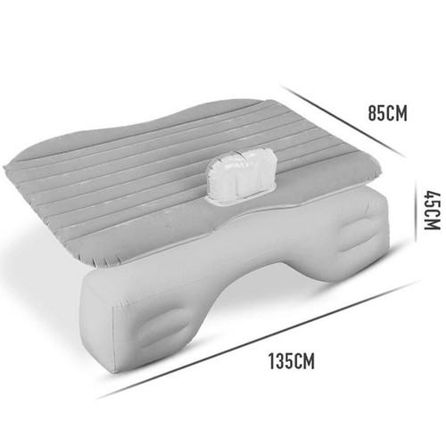 Đệm hơi ô tô mặt nhung chân rời 802 dùng được cho xe ô tô 4,5,7 chỗ màu xám shopaha247